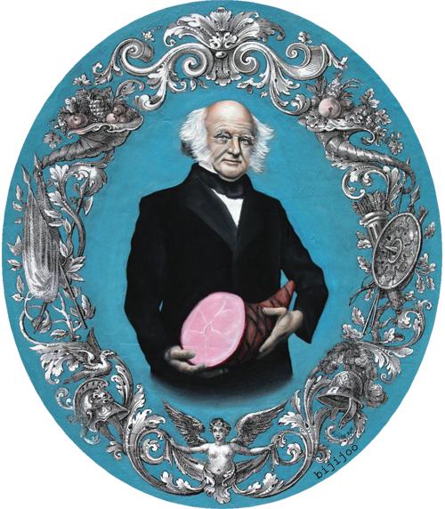 Martin Van Buren traits