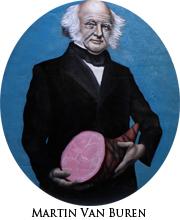 Martin Van Buren with Ham